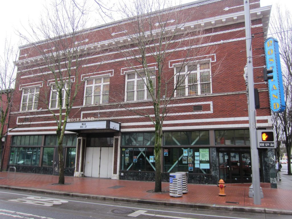 the roseland theatre